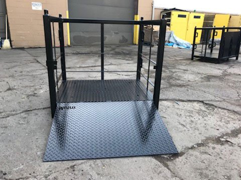 Custom Lift Ramp